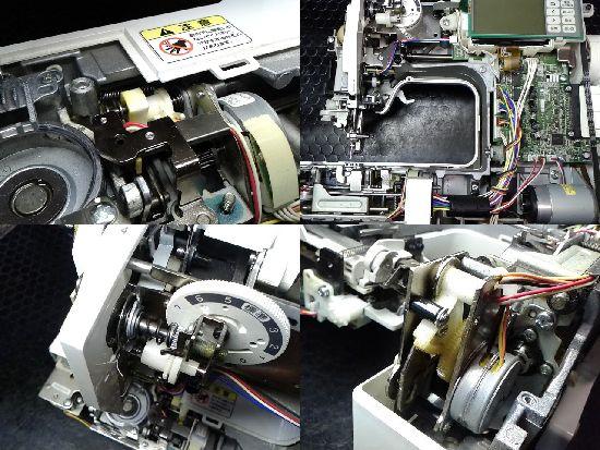 ブラザーEMV8301のミシン修理分解画像
