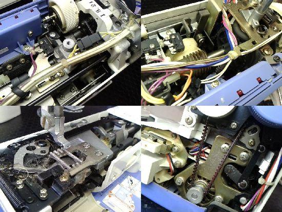 HZL-5300のJUKIミシン修理分解画像