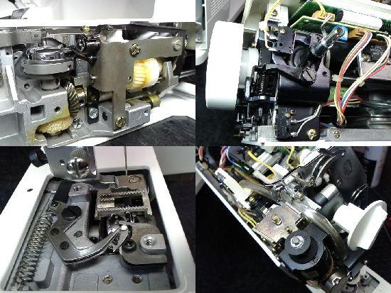 JUKIミシン修理分解画像HZL-7800