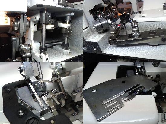 MO-50eのJUKIロックミシン修理分解画像