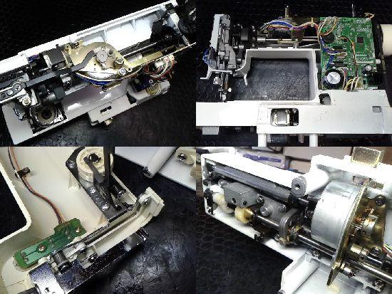 シンガーモニカmusee2580のミシン修理分解画像