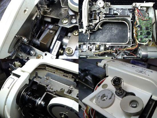 ブラザーPC-6000(CPS52)のミシン修理分解画像