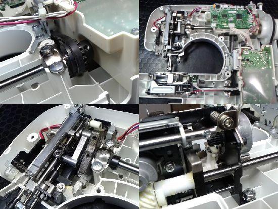 ブラザーミシン修理分解画像CPS4209