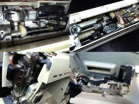 リッカーマイティ40のミシン修理分解画像