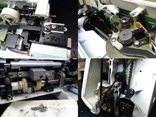 シンガー3600のミシン修理分解画像
