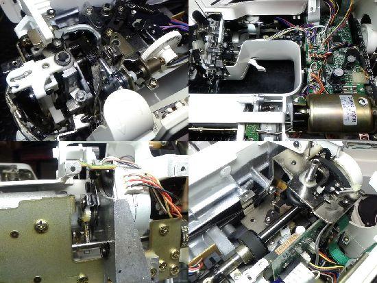 JUKIミシン修理分解画像HZL-T7500