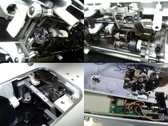 JUKIシュプール25スペシャルのミシン修理分解画像