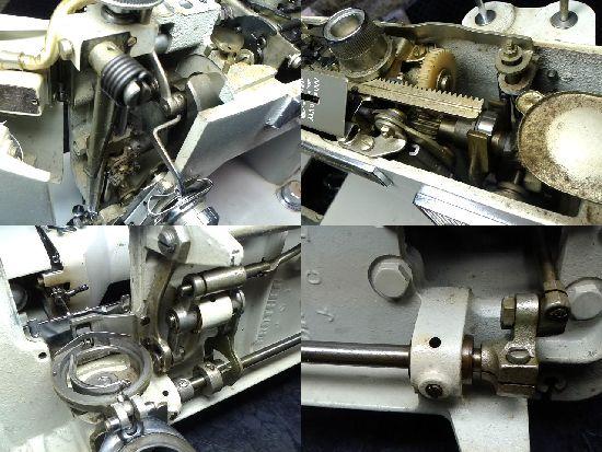 ブラザーミシン修理の分解画像ZU2-B685