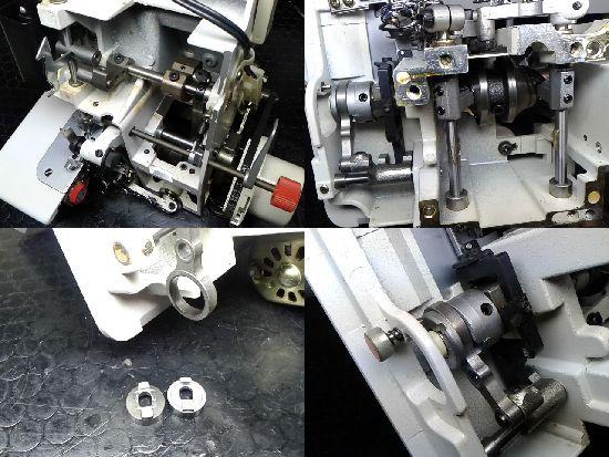 ジューキベビーロックBL3-438のミシン修理分解画像