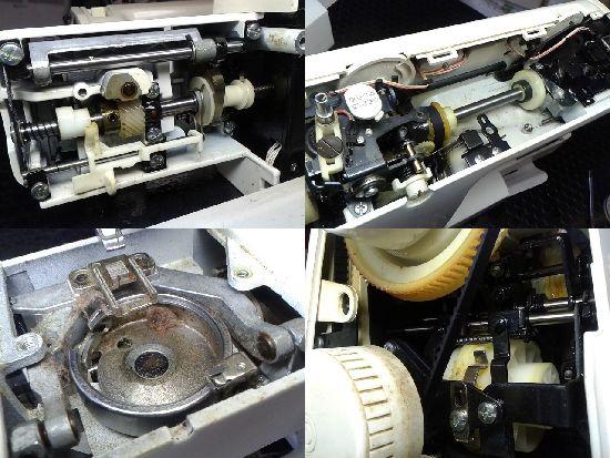 ブラザーZZ3-B582のミシン修理分解画像