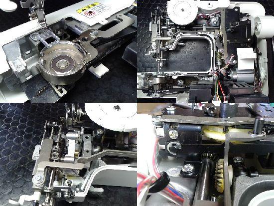 ブラザーELU4902のミシン修理分解画像
