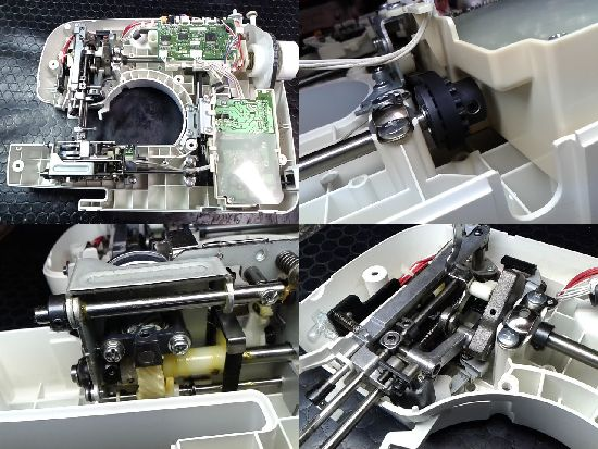 ブラザーミシン修理分解画像PS202(CPS42)