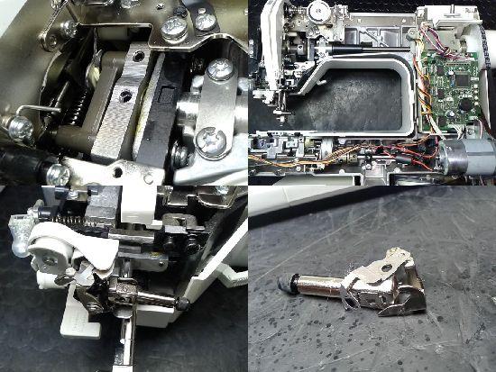 ブラザーソレイユ80(CPS7701)のミシン修理分解画像