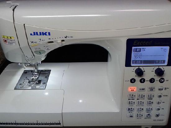 JUKIミシンHZl-F600JPの画像