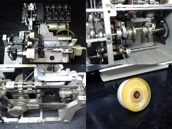 ベビーロックミシン衣縫人の分解修理画像