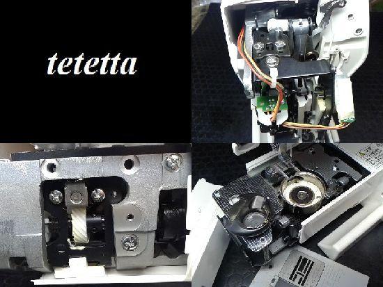 ジャノメミシン修理分解画像JN-51