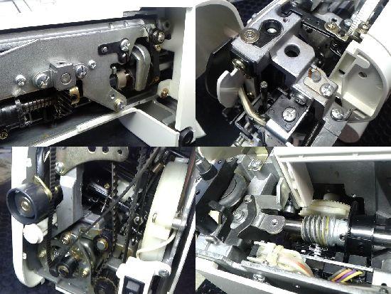 ジャノメSELFY5470のミシン修理分解画像