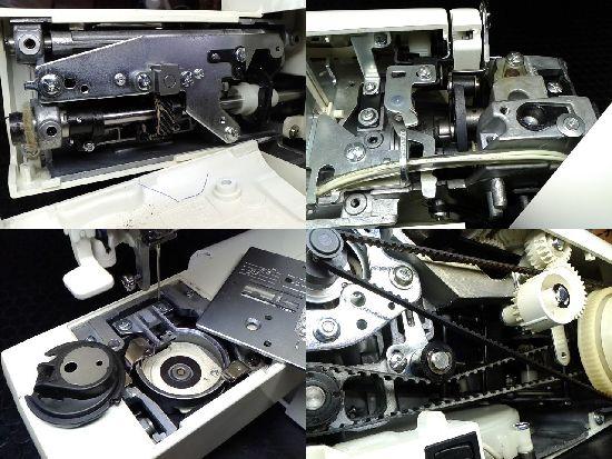 ジャノメミシン修理分解画像SELFY4470