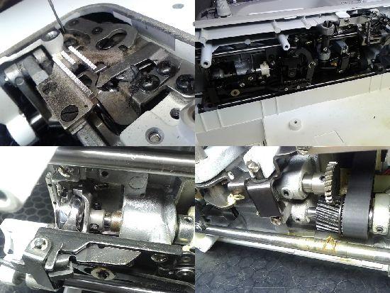JUKI職業用ミシンSL-280EXの分解画像