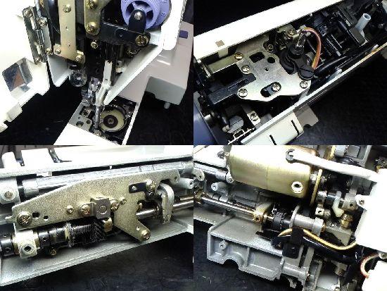 ジャノメCOMBI2200SXのミシン修理分解画像