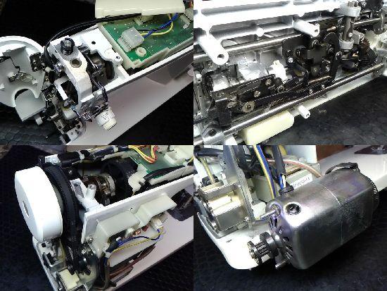JUKIミシン修理分解画像TL-98SPN