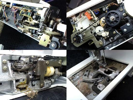 JUKIミシン修理分解画像AT-1000