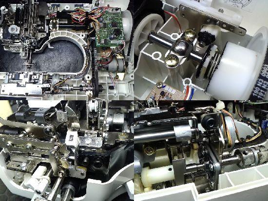 ブラザーミシン修理分解画像イノヴィスC44