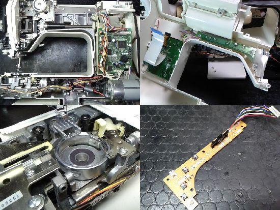 ブラザーミシン修理分解画像FERIE2(CPS72)