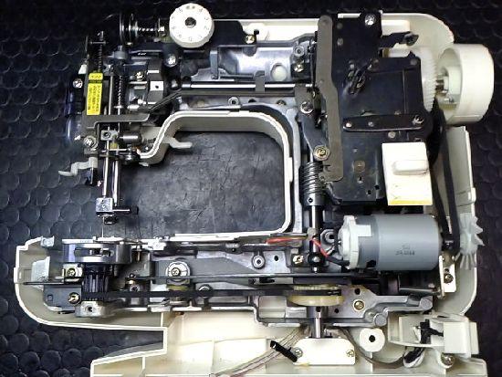 ブラザーミシン修理分解画像EL130
