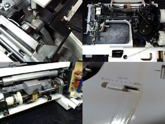 シンガーミシン修理分解画像fitline6500
