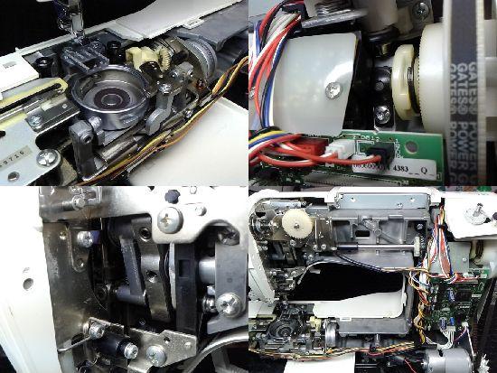 ブラザーCPS54のミシン修理分解画像