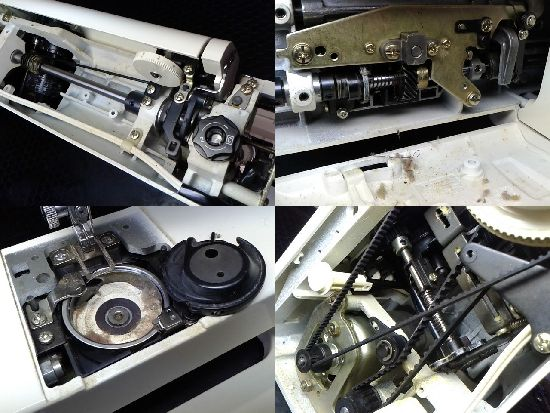 ジャノメプレール10のミシン修理分解画像