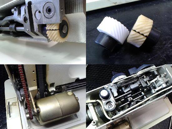 リッカーRZ-2600のミシン修理分解画像