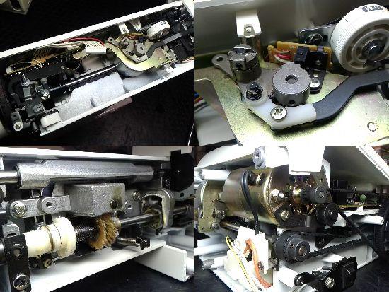 シンガーミシン修理分解画像safran3600