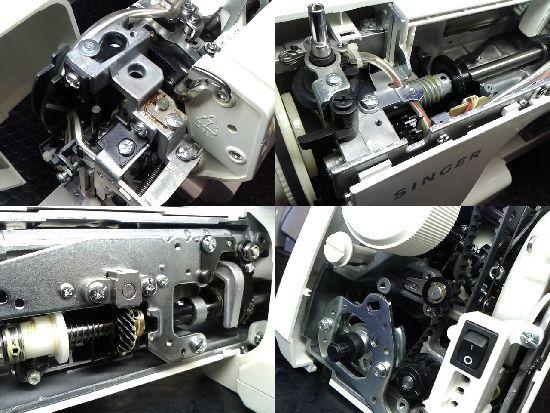 シンガーミシン修理分解画像SJ-90EX