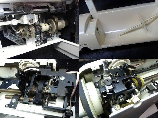 ブラザーソシエ(ZZ3-B576)のミシン修理分解画像