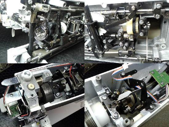 ブラザーTAT76のミシン修理分解画像