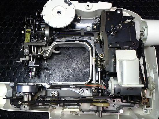 ブラザーEL125のミシン修理分解画像