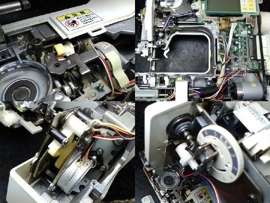 ブラザーEMV43のミシン修理分解画像
