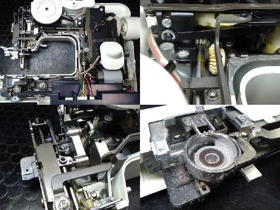 ブラザーミシン修理分解画像S35-LB