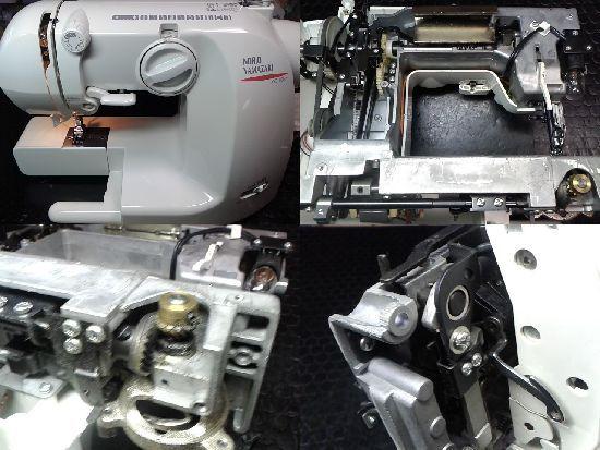 山崎範夫AG-002のミシン修理画像