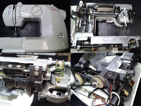 山崎範夫のミシン修理分解画像AG-002