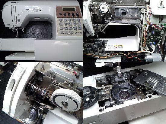 ブラザーソレイユ80のミシン修理画像