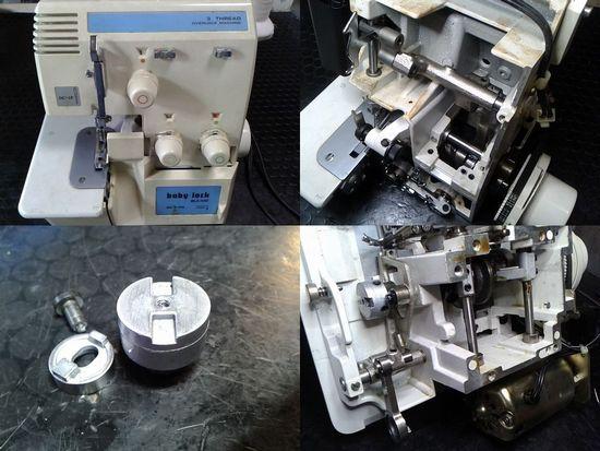 ベビーロックBL3-450のミシン修理分解画像