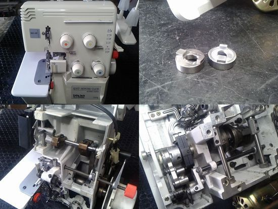 ベビーロックのミシン修理分解画像BL4-828DF