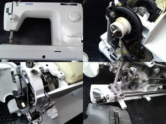JUKIシュプール98のミシン修理分解画像