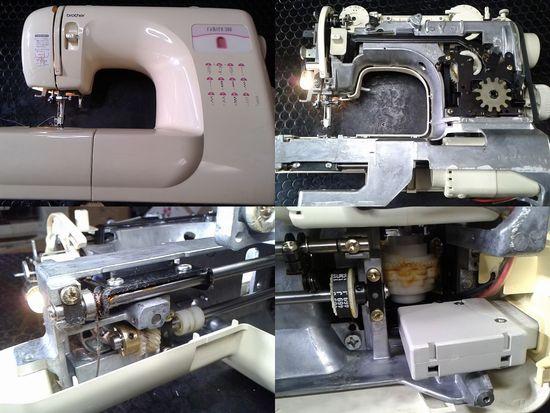 ブラザーミシン修理分解画像ZZ3-B541