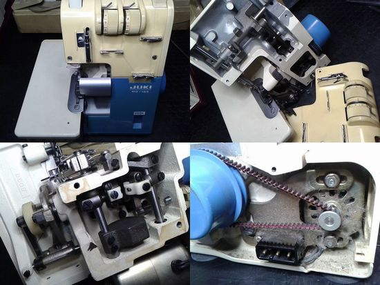 JUKIロックミシン修理分解画像MO-103