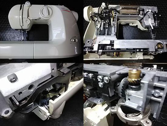 山崎範夫ミシン修理分解画像AG-002N