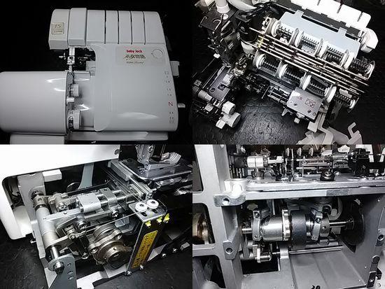ジューキベビーロック糸取物語BL066のミシン修理分解画像
